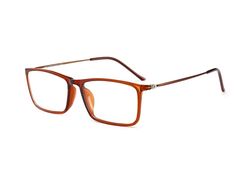 眼镜的镜架组合